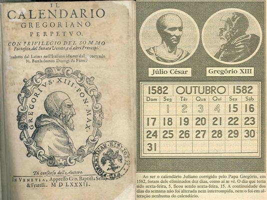 il calendario gregoriano